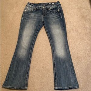 Miss Me Mid Rise Bootcut Jeans Size 28